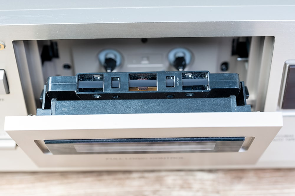 Digitalisierung von Musikkassetten