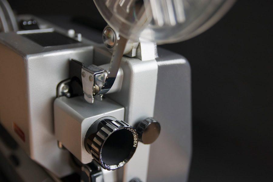 Filmprojektor 8 mm Filmspulen