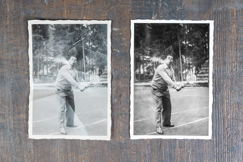 Digitale Fotorestaurierung